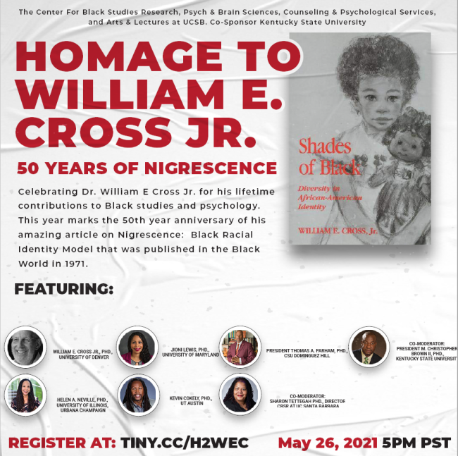 homepage to william e cross jr